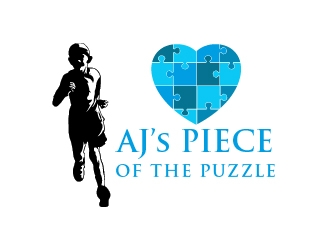 AJs Piece Of The Puzzle logo design