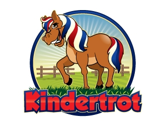 Kindertrot logo design