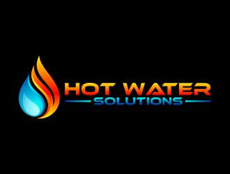 Hot Water Solutions logo design winner