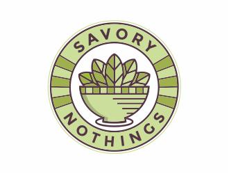Savory Nothings logo design