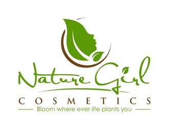 Nature Girl Cosmetics logo design winner
