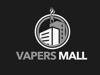Vapers Mall logo design