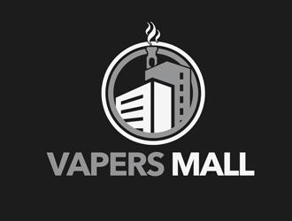 Vapers Mall logo design