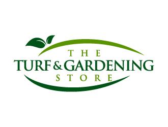 The turf and gardening store logo design winner