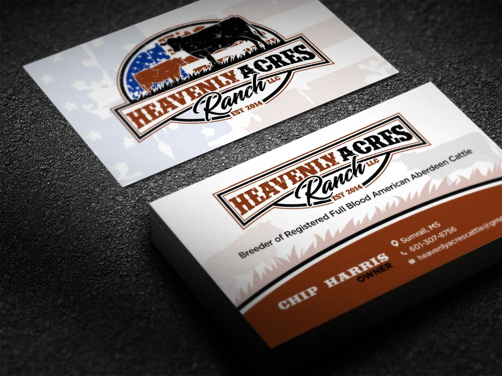 Heavenly Acres Ranch, LLC brand identity winner
