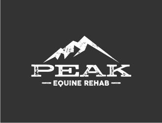 Peak Equine Rehab logo design