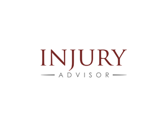 Injury Advisor logo design