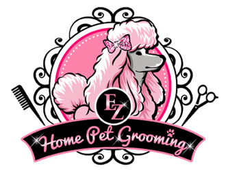 EZ HOME PET GROOMING logo design winner