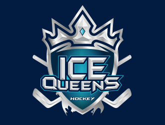 ICE QUEENS logo design