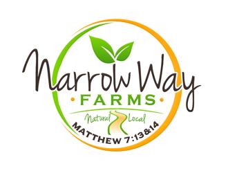 Narrow Way Farms logo design winner