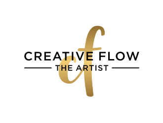 Creative Flow The Artist logo design