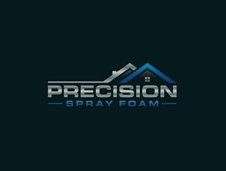 Precision Spray Foam  logo design winner