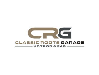 Classic Roots Garage Co. - Hotrod & Fab logo design