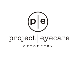 Project Eyecare Optometry logo design
