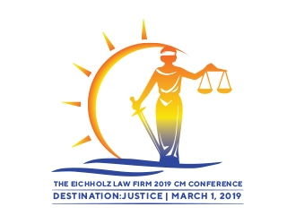 The Eichholz Law Firm 2019 CM Conference logo design