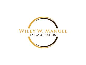 Wiley W. Manuel Bar Association logo design