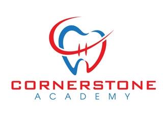 Cornerstone Academy logo design