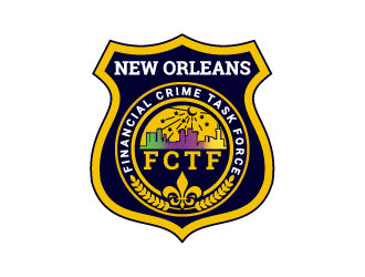 New Orleans Financial Crime Task Force logo design