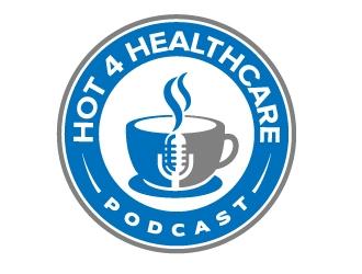 Hot 4 Healthcare logo design