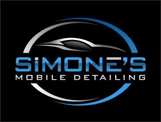 SIMONES MOBILE DETAILING  logo design