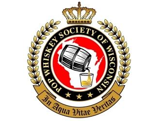Pop Whiskey Society of Wisconsin logo design