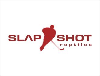 Slap Shot Reptiles logo design winner