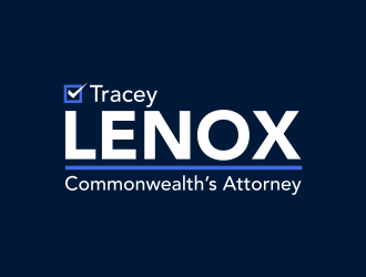 Tracey Lenox for Commonwealths Attorney logo design