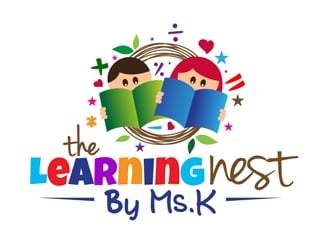 The Learning Nest by Ms. K logo design