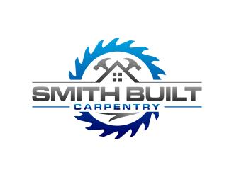 Smith Built Carpentry logo design winner