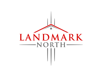 Landmark North logo design
