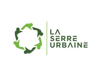 La serre urbaine logo design