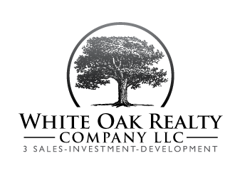 White Oak Realty Company LLC logo design