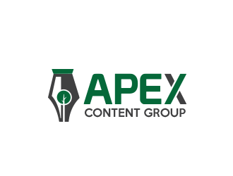 Apex Content Group logo design