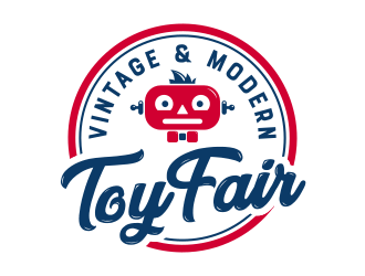 Vintage and Modern Toy Fair logo design