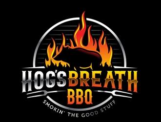 HOGS BREATH BBQ  logo design