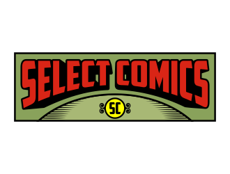 Select Comics logo design