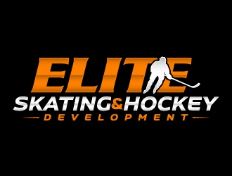 Elite Skating Hockey Development logo design