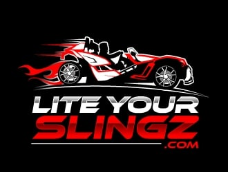 Lite Your Slingz logo design by aRBy