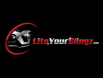 Lite Your Slingz logo design by Eliben
