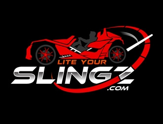Lite Your Slingz logo design by DreamLogoDesign