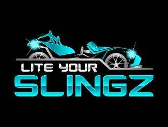 Lite Your Slingz logo design by daywalker