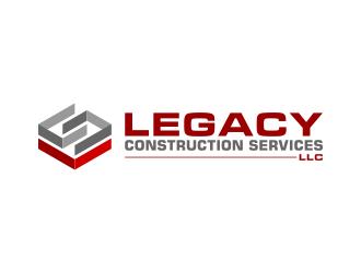 Legacy Construction Services, LLC logo design