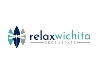 Relax Wichita logo design