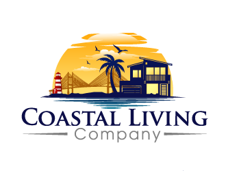 Coastal Living Company logo design