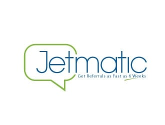 Jetmatic logo design