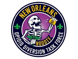 New Orleans Opioid Diversion Task Force  logo design