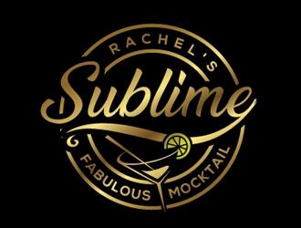 Rachels SubLime Mocktail logo design