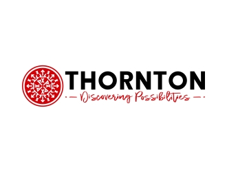 THORNTON - Discovering Possibilities logo design