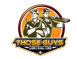 THOSE GUYS CONTRACTING logo design
