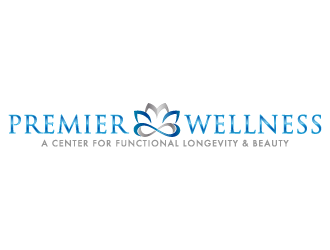 Premier Wellness logo design